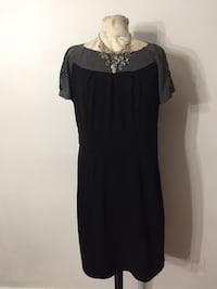 Black and grey dress size 14 Ontario, 91762