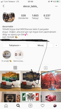 @decor_table_ İnstagram adresimiz