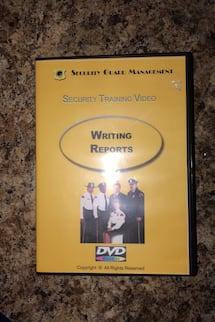 Sgm training video and template cd