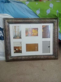 white and brown floral photo collage frame Ontario, K2J
