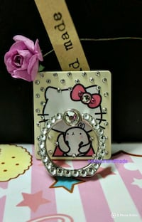 pink and white Hello Kitty leather wallet Markham