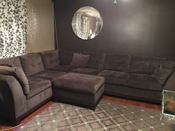 Used Grey sectional sofa for sale in Nashville - letgo