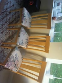 white and brown floral fabric sofa set Leesburg