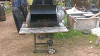 black and gray smoker grill Mobile, 36603