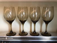 Umber Wine Glasses (4) Toronto, M6C 2M8