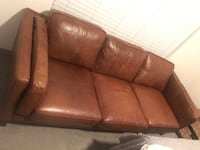 Brown leather couch Las Vegas, 89148