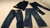 GIRLS Sz 5/6 Jean Wear for Back to School