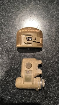 Surefire HL1-A Helmet Light with Mount(used). Has white/blue leds and ir flash. Loveland, 45140