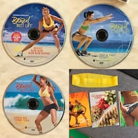 Exercise DVDs cardio / dance