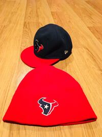 black and red fitted cap Pasadena, 77506