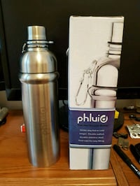 Hot cold stainless steel bottle