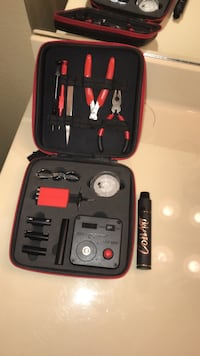 coilart mech mod and RDA with coil building kit