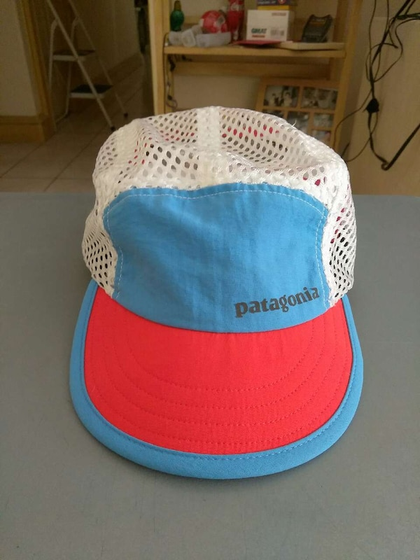 Used Patagonia Duckbill Trucker Hat Red fbfa760801d