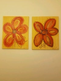 Yellow and Red Canvas Cedar Rapids, 52402