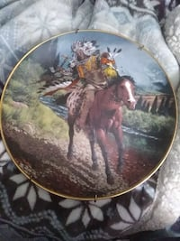 Franklin mint plate the western heritage museum Jacksonville, 32224
