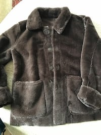 suede jacket - small