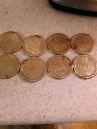 harrah's tokens.