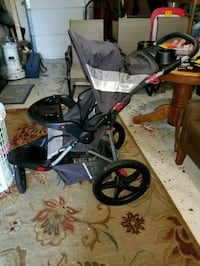 baby's black and gray jogging stroller Seaford, 23696