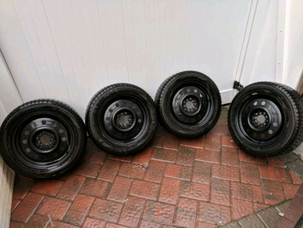 Steel Wheels For Sale >> 16 Steel Wheels With 205 55 R16 Winter Tires