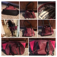 Women's assorted color leather tote bags Buffalo Gap, 79508