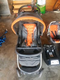 2013 BabysRUs stroller, carseat, 2 car bases Lake Saint Louis, 63367