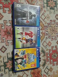 3 ps4 games (uncharted 4)
