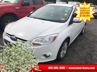 2012 Ford Focus White Manchester, 03103