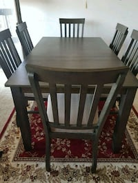 rectangular brown wooden table with six chairs di Falls Church, 22041
