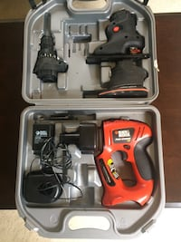 Black&Decker cordless  power tool set with case Fairfax, 22030