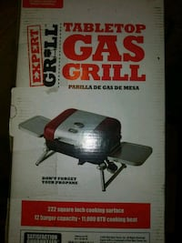 tabletop gas grill  Chicago, 60632