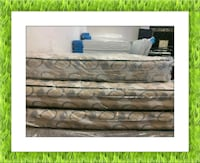 2pc semi firm king mattress with box spring Silver Spring, 20906
