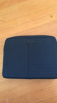 "Coach laptop case. Fits 13"" laptop. Basically brand new still have assembly foam inside. Ended up not using it and got a bigger laptop now Vancouver, V5K 4H1"