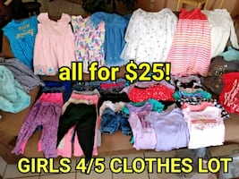 Girls 4/5 clothes lot