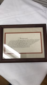 """Tennessee state wall picture frame by, HughxLewis  14x11"""" frame  College Station, 77845"""