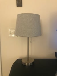 Grey Lamp - Bulb Included!