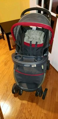 baby's black and red stroller Woodbridge, 22191