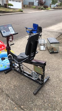 EXERCISE bike. Large bike only-small bike sold