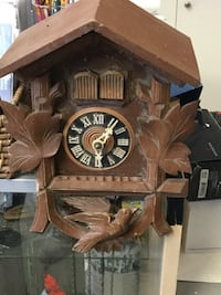 brown wooden cuckoo clock Winnipeg