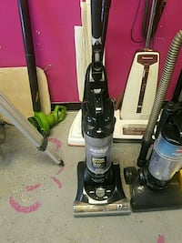 black and gray upright vacuum cleaner Houston, 77082