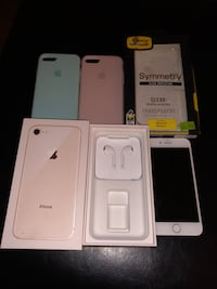 iPhone 8 64gb with accessories  Edmonton, T5B 0P3