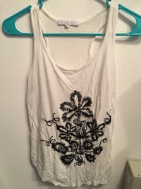 white and black floral tank top Las Vegas, 89119