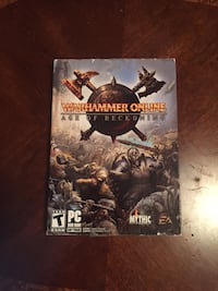 Warhammer Online Age of Reckoning PC DVD ROM case