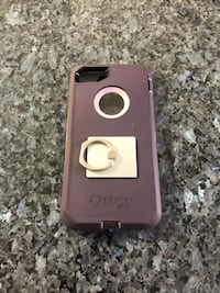 Pink/Purple Otterbox iPhone 8/7 phone case