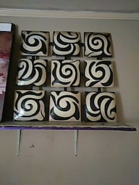 white and black wooden wall decor Fort Smith, 72901