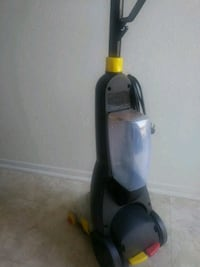 black and gray upright vacuum cleaner Fresno, 93726