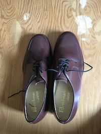 pair of purple leather dress shoes Caledon, L9W