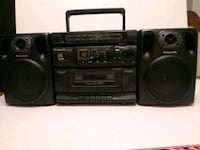 Panasonic Boombox RX-DS515 CD Cassette Radio Whitchurch-Stouffville, L4A 0J5