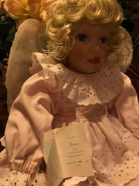 Gorgeous!Angel Porcelain Doll numbered & Signed  Gainesville, 20155