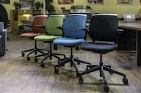 "Simple Office Chairs ""Turnstone"" by Steelcase. San Jose, 95112"