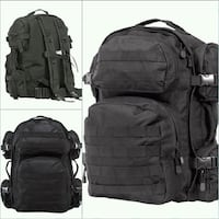 NEW NCSTAR DELUXE TACTICAL BACKPACK -BLACK Fontana, 92336